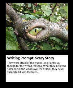 scary story writing prompt