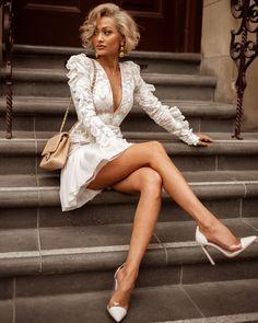 Inspire-se no estilo de Micah Gianneli Sexy Outfits, Cute Outfits, Fashion Outfits, Womens Fashion, Style Fashion, Fashion Beauty, Pretty Dresses, Sexy Dresses, Short Dresses