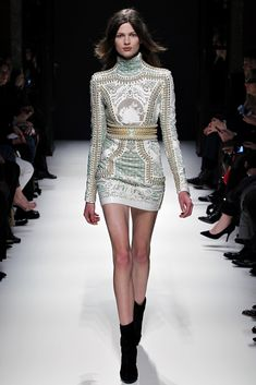 Balmain Fall 2012 Ready-to-Wear - Collection - Gallery - Look 1 - Style.com