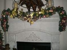 Fireplace Garland - second one I had ever made