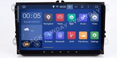 "32G 8CORE Android 6.0 2Din 9""Car DVD Player For VW/Volkswagen/Passat/POLO/GOLF/Skoda/Seat/Leon 2GB RAM WIFI GPS Navigation Radio #Affiliate"