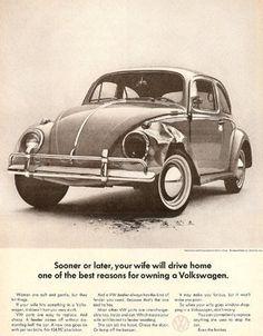 Volkswagen, 'Wife.' Agency: Doyle Dane Bernbach