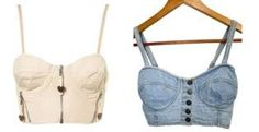 Chic bustier tops