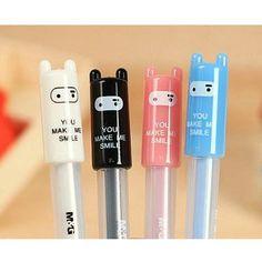 The Kawaii Notebook      gel pens