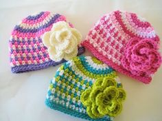 Crochet Dreamz: Fruit Loop Beanie Crochet Pattern for Boys and Girls, Newborn to Woman