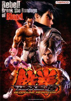 Tekken 6 Bloodline Rebellion, found on PS3 and X360 as Tekken 6