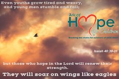 #ChildAbuse, #ChildTtrafficking, #Bullying survivor, though you're tired He can renew your strength to soar like an eagle! Isaiah 40:30-31   +Ark of Hope for Children and Removing Chains are here to help that happen if you are willing. Meme created by Ark of Hope for Children www.ArkofHopeforChildren.org