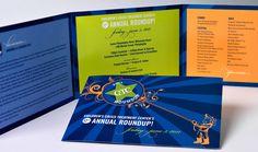party invite - CcTC 12th Annual RoundUp | CWP Design Studio