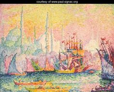View Constantinople - Corne dor by Paul Signac on artnet. Browse upcoming and past auction lots by Paul Signac. Impressionist Landscape, Impressionism Art, Artist Painting, Artist Art, Statues, Paul Signac, Mini Paintings, Claude Monet, French Artists