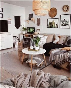 40 Comfy Scandinavian Living Room Decoration Ideas Home Decoration Boho Living Room Comfy Decoration Home Ideas Living Room Scandinavian Boho Living Room, Home And Living, Living Room Decor, Living Room Inspiration, Home Decor Inspiration, Pillow Room, Up House, Scandinavian Living, Home Interior