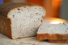 whole wheat sourdough sandwich bread...I need this for my grilled baked potato sandwich!