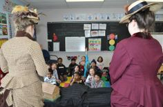 Students in Grades 1 & 2 learned about pioneer life and played the artefact memory game when Goulbourn Museum visited Bridlewood Community Elementary School last week.
