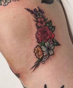 Floral knee