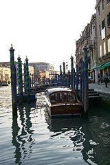 venice canal boats - Google Search