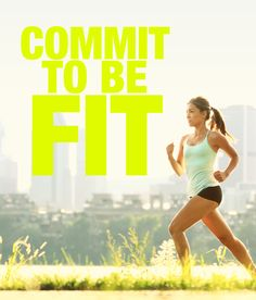 Commit To Be Fit! You can do it!! #skinnyms #fitness #committobefit