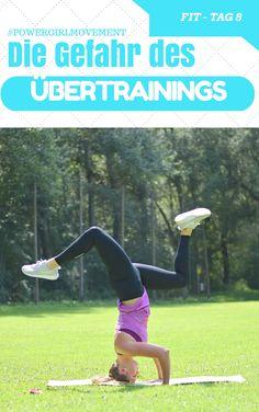 Übertraining – Man trainiert und trainiert, wird aber nicht besser, fühlt sich andauernd müde und schlapp, kraftlos und sieht keine Verbesserung. Verletzungen und wiederkehrende Krankheiten (Verkühlungen) können auch Anzeichen des Übertrainings sein bzw. deren Folge sein.