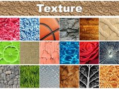 This Power Point presentation was created to help introduce the Element of Art, Texture. It discusses what other Elements of Art are used to create texture while giving visual aids. It also discusses the difference between Implied texture and Actual texture which are also accompanied by visual examples of actual artwork.