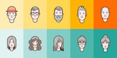 (Free) People Icons | The Hungry Jpeg