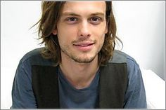 Matthew Gray Gubler. Plays Spencer Reid on Criminal Minds. Absolute favorite fictional character on television.