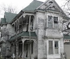 Abandoned Funeral Homes | Courage is not the absent of fear, but rather the judgement that ...