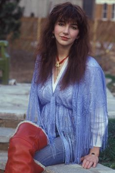 Rare Scans and Photo Thread in Kate Bush General Discussion Forum. Women Of Rock, Great Women, Beautiful Women, Music Photo, Thats The Way, Female Singers, Celebs, Celebrities, Boho Fashion