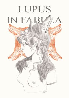 Illustration - 2019 (c) Marta Bertello Lupus in fabula Noli Me Tangere, Freelance Illustrator, Memento Mori, Illustration, Amor, Illustrations, Momento Mori