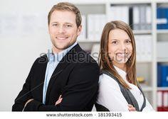Man And Woman At Work Photos et images de stock | Shutterstock