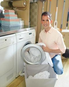 Becoming Mr. Clean: Kevin's Laundry Room Organizers