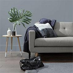 Larsen Light Grey 3 Seater Sofa by Zanui