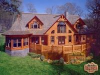 Log Home Models | Citadel I Log Home Model from True North Log Homes