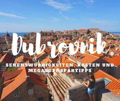 Dubrovnik Reisebericht - komm mit in die schönste Altstadt Kroatiens und lernen alle Sehenswürdigkeiten und megasupi Spartipps kennen.