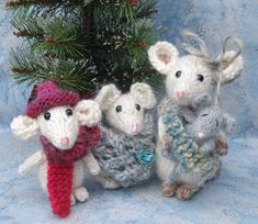 Oh - So Sweet!::Ravelry Mouse pattern. by ViolaSueKnits