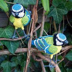 Blue Tit amigurumi pattern by MieksCreaties