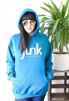 Deep sea blue pullover Hoodie