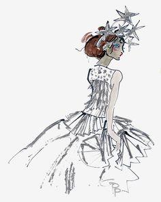 Jourdan Dunn sparkles in Dior Haute Couture // Gladys Perint Palmer