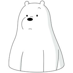 Ice Bear We Bare Bears, We Bare Bears Wallpapers, Bear Wallpaper, Panda, Doodles, Stickers, Cartoon, Cute, Paintings