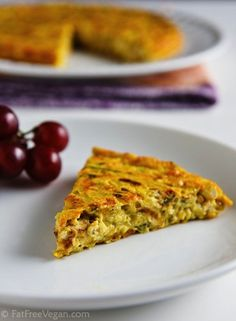 Vegan Zucchini Frittata - The Ultimate Guide to Cooking With Tofu - ChooseVeg.com