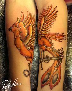 Lat'Ink Tattoo - Studio - Airbrush - Bodyart - Tatuering - Stockholm Artist: Robin Tatueringsstilar Black & Grey - Color