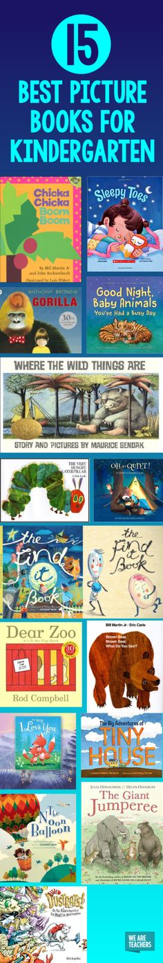 15 Best Picture Books for Kindergarten - WeAreTeachers