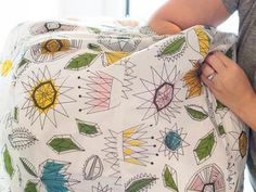 How to Make a Fabric Pouf Ottoman : Page 02 : Decorating : Home & Garden Television
