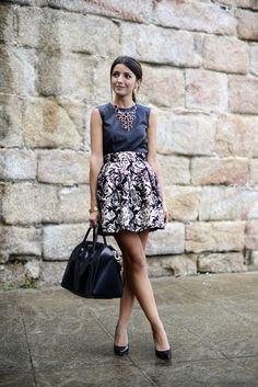 dark floral & leather