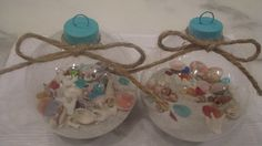 LOVE OF THE SEA: Creating Sea inspired Christmas Ornaments