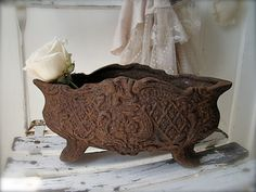 French Jardiniere by mypetitemaison on Etsy, $90.00
