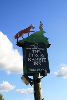 The Fox and Rabbit Inn  Yorkshire