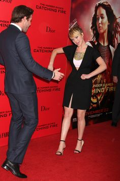 Seriously. | 51 Times In 2013 Jennifer Lawrence Proved She Was Master Of The Universe