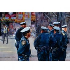 Times Square Cops. John Salminen.