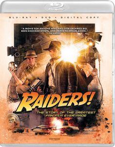 RAIDERS! DRAFTHOUSE FILMS SPINE #38 BLU-RAY