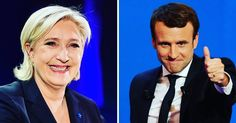 Emmanuel Macron and Marine Le Pen Advance in French Election http://buff.ly/2pUiOWj