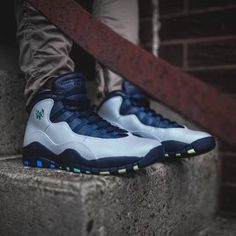 """City Pack exclusive. The Air Jordan Retro 10 """"Rio"""" is available at kickbackzny.com."""