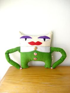 Miss Lila by cronopia6 on Etsy, $24.00